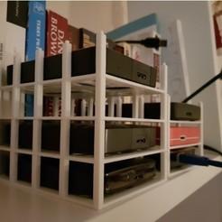 Diseños 3D armario de discos, christelle79