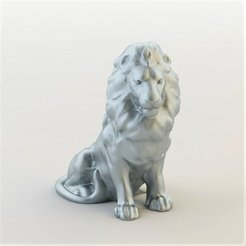 product_image_15835.jpg Download free STL file lion • Template to 3D print, christelle79