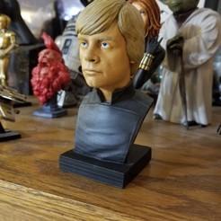 Free 3D print files Luke Skywalker v2, sledgehamr