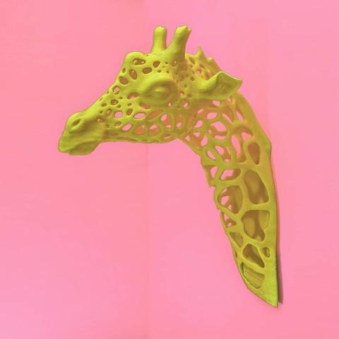 Download free STL Giraffe Spots, DrFemPop