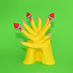 20191127_104857.jpg Download free STL file Pens for Hands • 3D printer template, DrFemPop