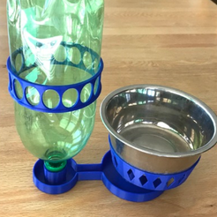 Download free 3D printing templates Ant-Proof Pet Feeder, DuaneIndeed
