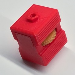 Free 3D printer designs Threaded Option for 1/4-20 Adapter for Articulating Camera Mount, DuaneIndeed