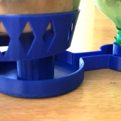 Capture d'écran 2018-07-05 à 15.07.59.png Download free STL file Ant-Proof Pet Feeder • 3D printing model, DuaneIndeed