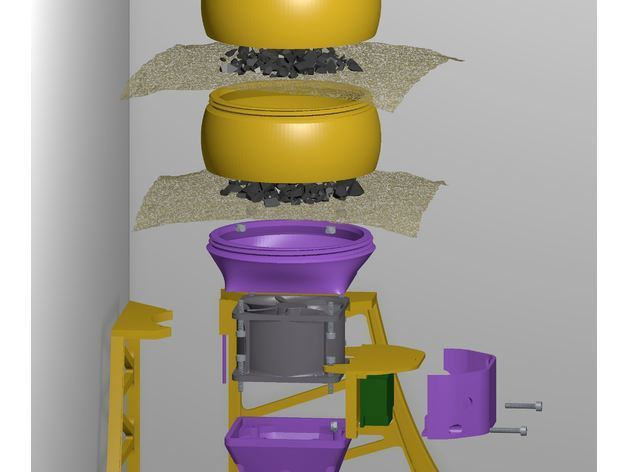 c69c67bff7743fa6025792e7ec6a6738_preview_featured.JPG Download free STL file HEPA Air Filter Scrubber Tower • 3D print design, DuaneIndeed