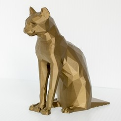 Download free STL file Cat Doorstop • 3D print template, DuaneIndeed