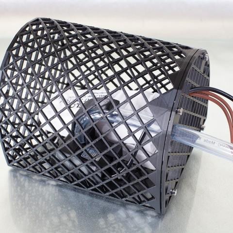 Télécharger fichier impression 3D gratuit Pompe de puisard submersible à énergie solaire, DuaneIndeed