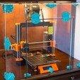 Download free 3D printer files Art Deco Printer Enclosure, DuaneIndeed