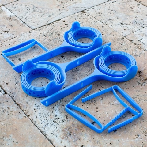 1Q5B7510.jpg Download STL file Universal Cup Holder for Open-Arm Chairs • Object to 3D print, DuaneIndeed