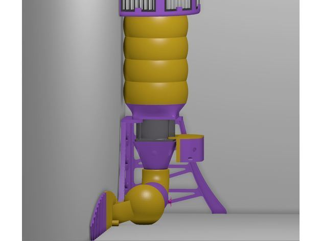 b36cf63b14bcad26fd2ad69e814a0ac9_preview_featured.JPG Download free STL file HEPA Air Filter Scrubber Tower • 3D print design, DuaneIndeed
