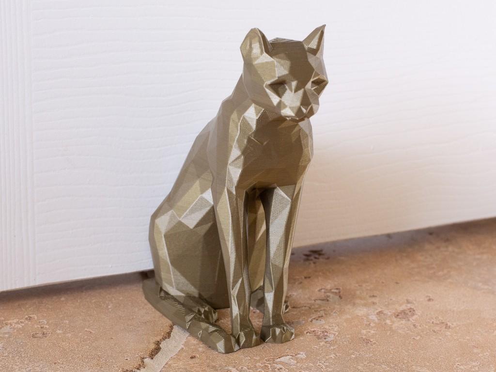d642c8865f2449138d60e13c98734702_display_large.jpg Télécharger fichier STL gratuit Butoir de porte Cat • Modèle pour impression 3D, DuaneIndeed