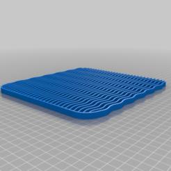 Télécharger fichier STL gratuit Tapis de porte pour litière de chat • Design à imprimer en 3D, DuaneIndeed