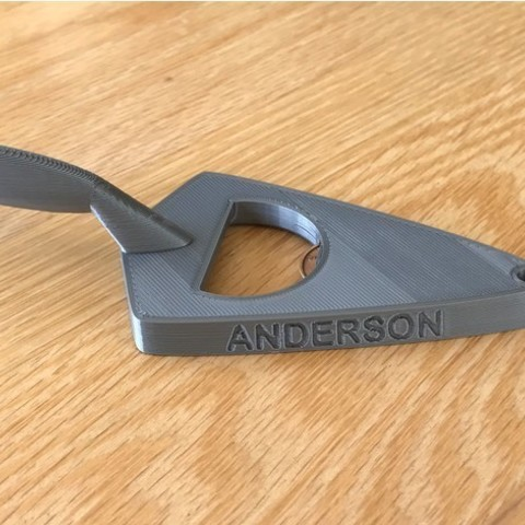 09327bb005ed58412c7e163b5a3fc8f4_preview_featured.jpg Download free STL file Trowel Bottle Opener • 3D printer object, DuaneIndeed