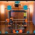 Free 3d print files Art Deco Printer Enclosure, DuaneIndeed