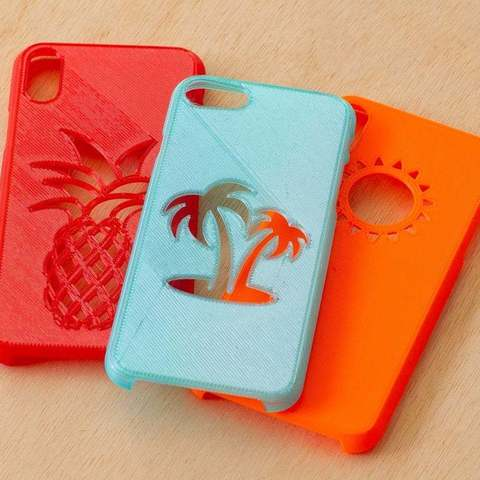 Download free STL file iPhone Case - 7/7Plus, 8/8Plus, X, XS, XS Max, XR • Template to 3D print, DuaneIndeed