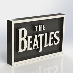 beatles_2.JPG Télécharger fichier STL Plaque des Beatles • Design pour impression 3D, taiced3d