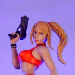 _MG_5093 2.jpg Download OBJ file Zero Suit Samus (Metroid) • Object to 3D print, taiced3d