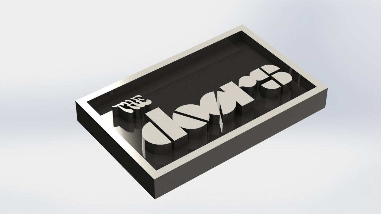 thedoors_1.JPG Download STL file The Doors Plaque • 3D printable design, taiced3d