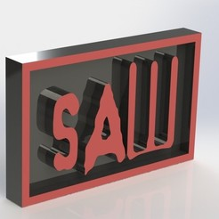stl files SAW Plaque, taiced3d