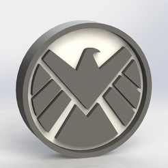 the_shield_ref1.JPG Download STL file Shield Logo Plaque • 3D printing model, taiced3d