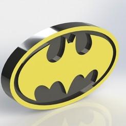 batman_2.JPG Télécharger fichier STL Plaque Batman • Plan à imprimer en 3D, taiced3d