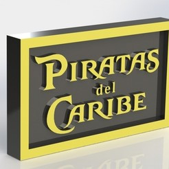 piratas_2.JPG Download STL file Piratas del Caribe • Object to 3D print, taiced3d