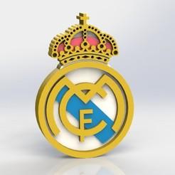 real_madrid_ref1.JPG Télécharger fichier STL Logo du Real Madrid • Objet à imprimer en 3D, taiced3d