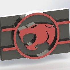 stl file Thundercats Plaque, taiced3d