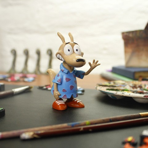 3d printer files Rocko Rockos Modern Life, taiced3d