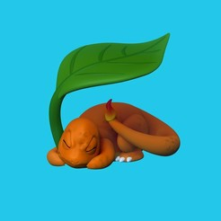 Charmander_taiced3d.jpg Download OBJ file Charmander Pokemon • Template to 3D print, taiced3d