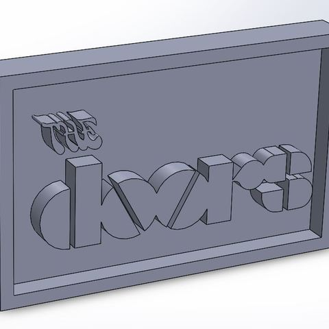 thedoors_0.JPG Download STL file The Doors Plaque • 3D printable design, taiced3d