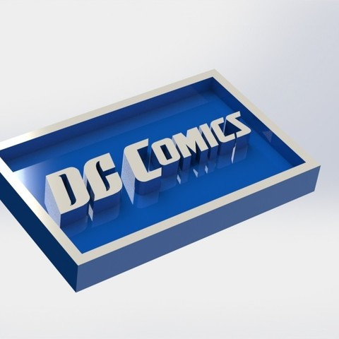 dccomics_1.JPG Download free STL file DC Badge Comics Logo • 3D print design, taiced3d