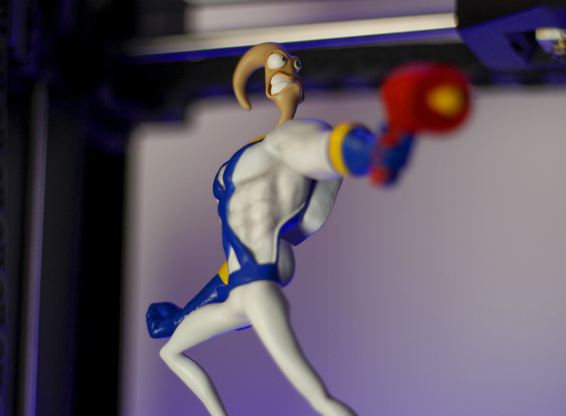 _MG_5096.jpg Download free OBJ file Earthworm Jim • 3D printable template, taiced3d