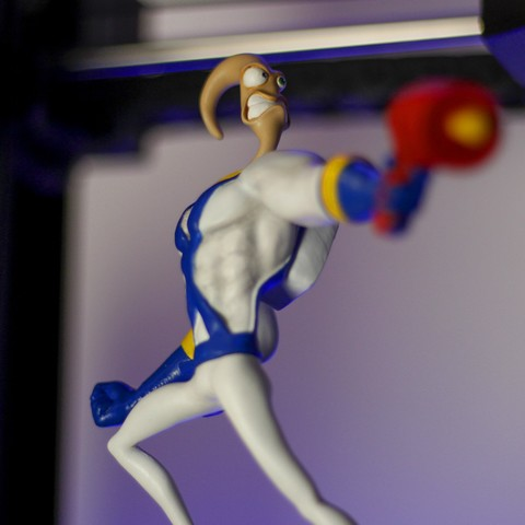 Download free 3D printing designs Earthworm Jim, taiced3d
