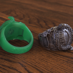 Télécharger fichier impression 3D Uk'otoa Critical Role Ring, taiced3d