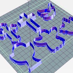 comunion.PNG Télécharger fichier STL ensemble de communion x6 emporte-pièce • Objet pour impression 3D, ledblue