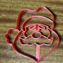 oasosa.jpg Télécharger fichier STL Coupe-papier du Père Noël • Objet pour impression 3D, ledblue