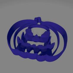 calabaza.png Download STL file Pumpkin cookie cutter • 3D printer model, ledblue