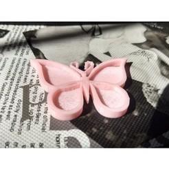 Download free 3D printer designs Butterfly, ledblue
