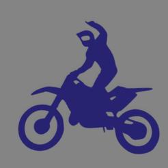 moto topper.png Télécharger fichier STL Moto topper • Plan pour imprimante 3D, ledblue