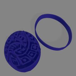 moana.png Télécharger fichier STL pendentif moana coupe-biscuits • Plan pour impression 3D, ledblue