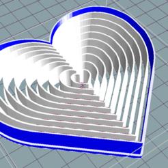 Download STL file Heart cutter cookie cutter x10 sizes • 3D print object, ledblue