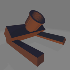Download 3D printer templates Industrial Lamp, lartiste3D