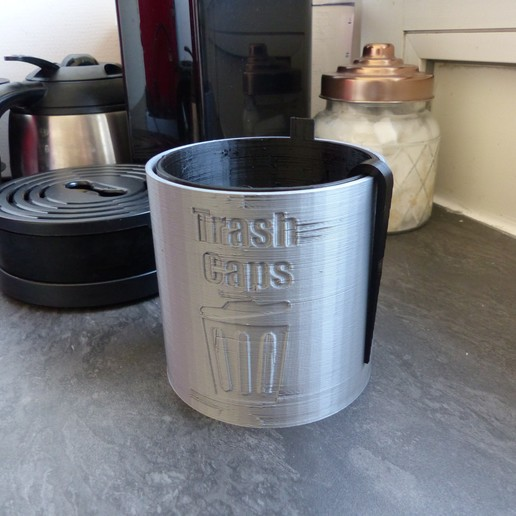 P1010600.JPG Télécharger fichier STL TRASH CAPS - Poubelle pour dosettes et capsules de café • Design à imprimer en 3D, lartiste3D