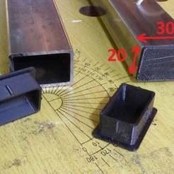 Download free STL file CAP 20x30 • 3D printer model, brunoschaefer41