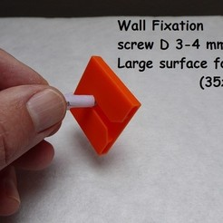 Free 3D model Wall fixation for pictures, painting..., brunoschaefer41