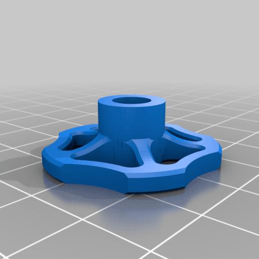 SmallWheeld6.png Télécharger fichier STL gratuit Valve de la torche • Plan pour imprimante 3D, brunoschaefer41