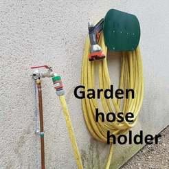 20200825_112055C.jpg Download free STL file Garden hose holder • 3D printer design, brunoschaefer41