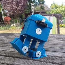 20160827_120938.jpg Download free STL file CYNO01 Arduino Robot walker • 3D printing template, brunoschaefer41