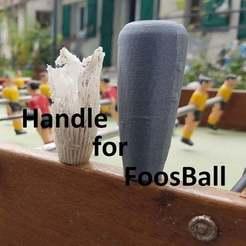 Télécharger fichier STL gratuit handle for foosball • Design pour imprimante 3D, brunoschaefer41